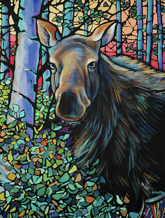 Alison Newth - Moose In Summer