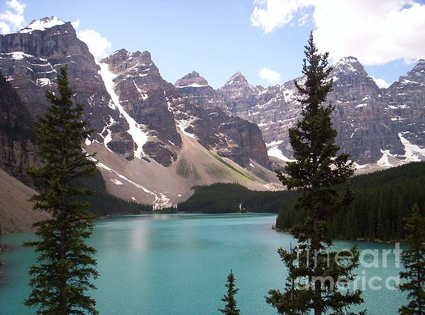 Sharon Patterson - Moraine Lake In Banff National Park