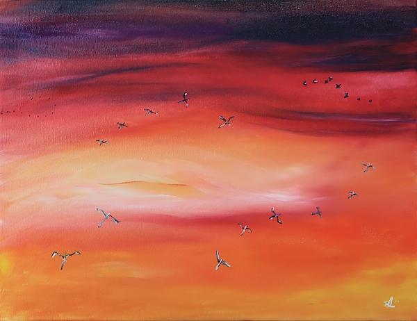 James Bryron Love - Morning Aerial Ballet