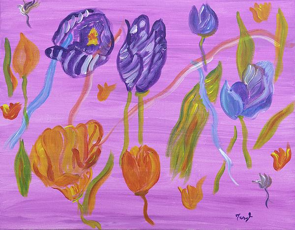 Meryl Goudey - Morning Delight Tulips