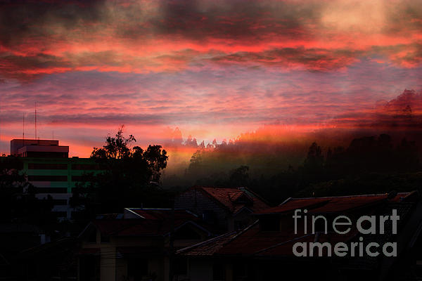 Al Bourassa - Morning Fog Over The Bosque De Monay