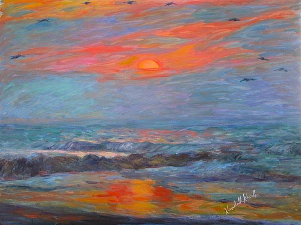 Kendall Kessler - Pawleys Island Morning Light Stage One