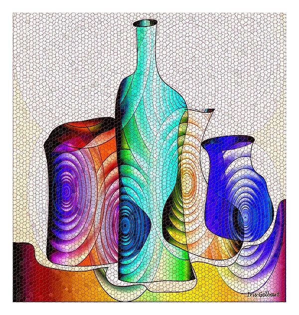 Iris Gelbart - Mosaic  #12ab