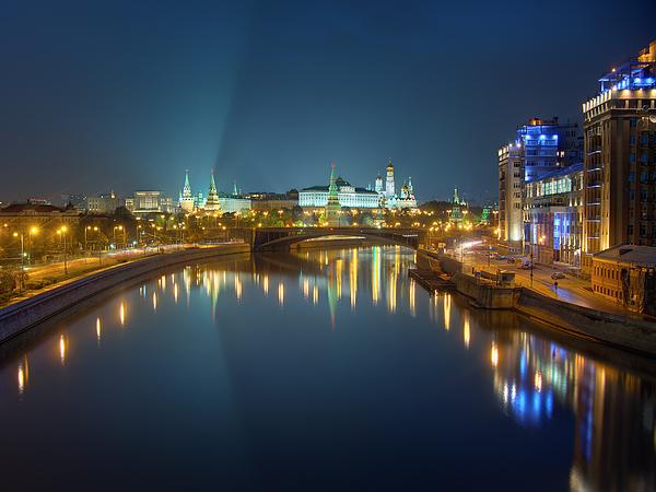 Alexey Kljatov - Moscow Kremlin at night
