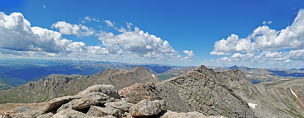 David Mahncke - Mount Evans Clouds