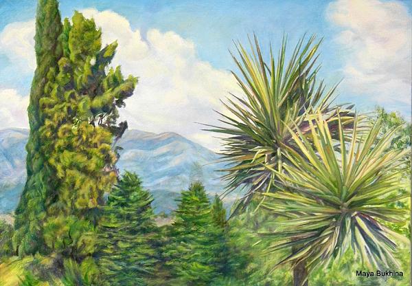 Maya Bukhina - Mountain landscape.
