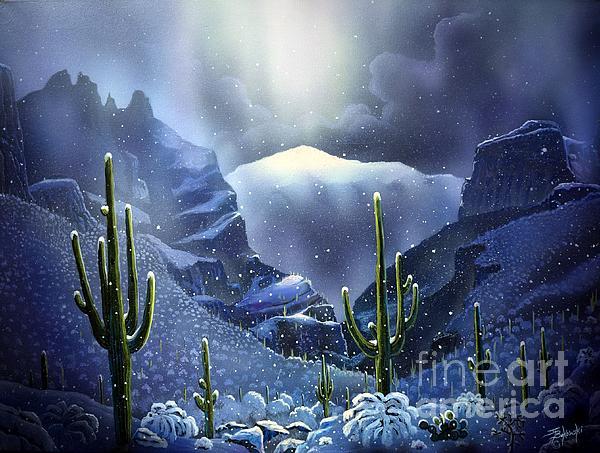 Jerry Bokowski - Finger Rock Canyon Snow