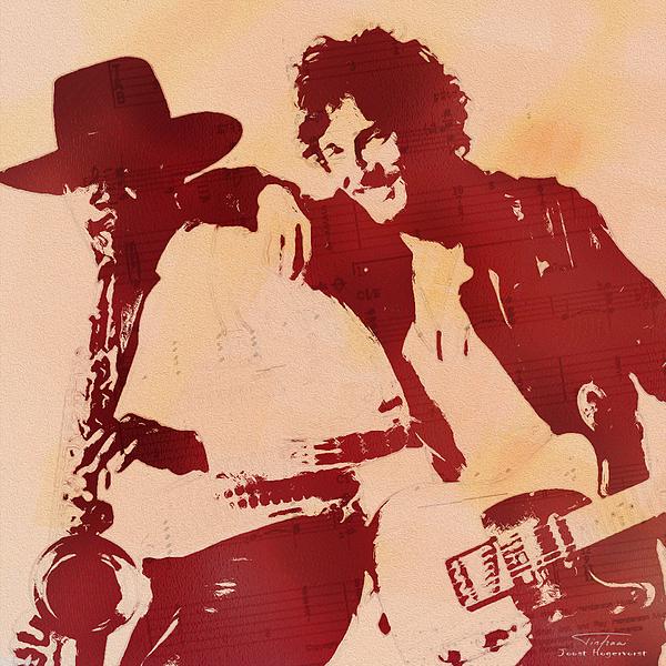 Joost Hogervorst - Music Icons - Bruce Springsteen I