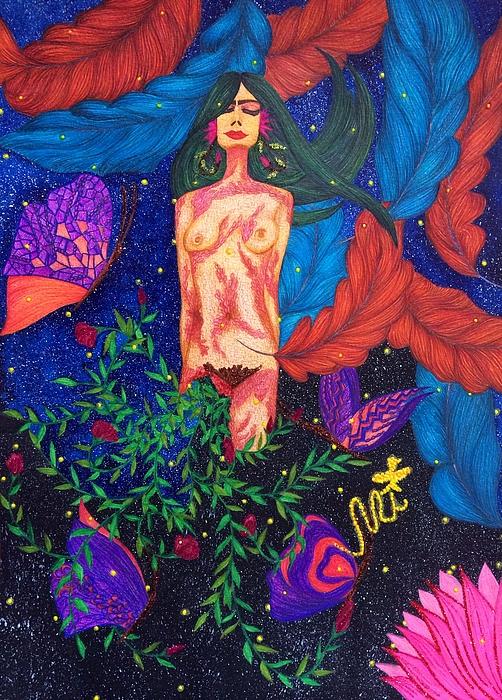 Tejsweena Renu Krishan - My Overwhelmed, Spellbinding Essence.