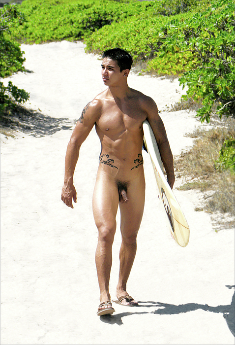 Male Nude Photography- Surfers Hands