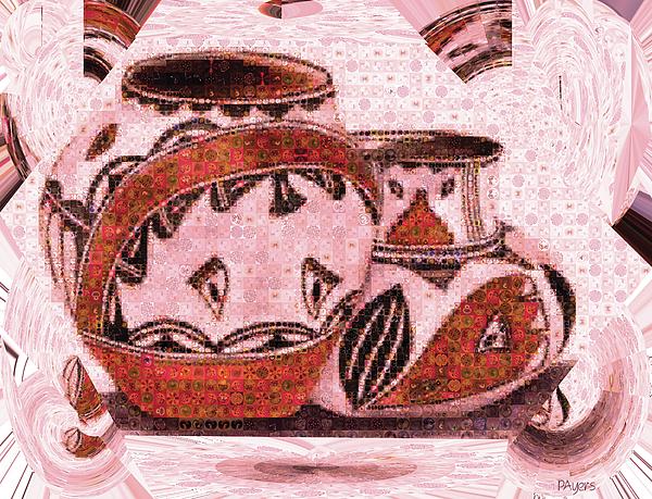 Paula Ayers - Native American Pottery Mosaic