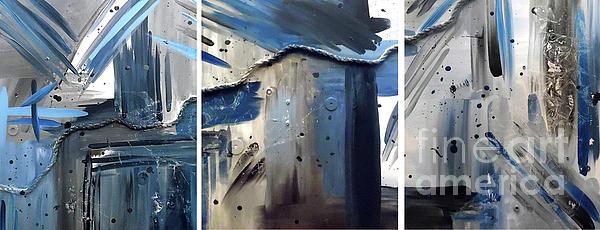 Jilian Cramb - AMothersFineArt - Nautical Nights Triptych
