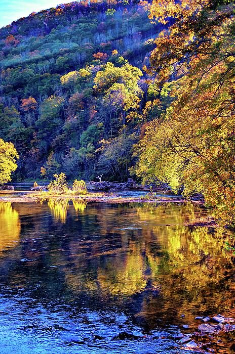 Steve Harrington - New River Evening - West Virginia
