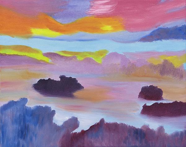 Meryl Goudey - Strawberry Skies Watching