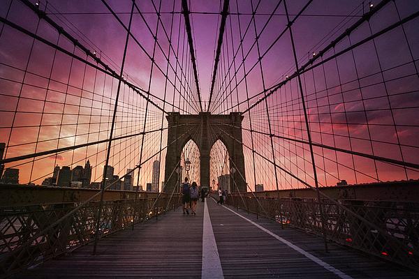 Brooklyn Bridge at Sunset Sweatshirt