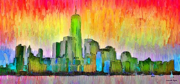Leonardo Digenio - New York Skyline 6 - PA