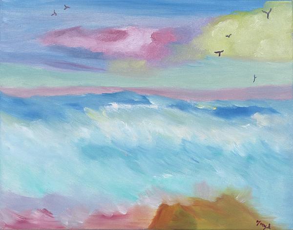 Meryl Goudey - Frothy Ocean Waves