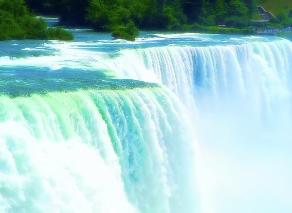 Aimee L Maher Photography and Art Visit ALMGallerydotcom - Niagara Falls 2 Celestial Skies
