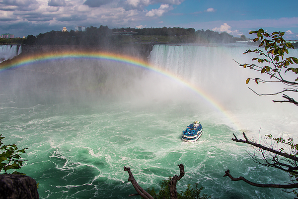 Venetia Featherstone-Witty - Niagara Falls, Rainbow and Maid of the Mist