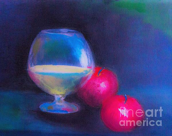Lisa Kaiser - Nightcap Snack Painting