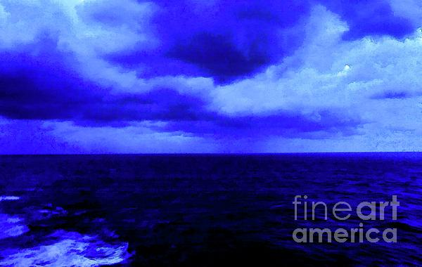 Robyn King - Ocean Blue Digital Painting