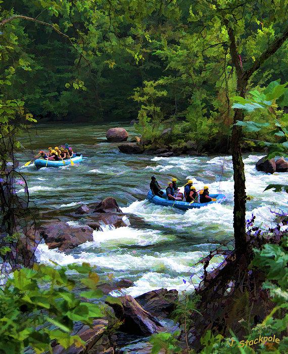 Jennifer Stackpole - Ocoee River Rafting