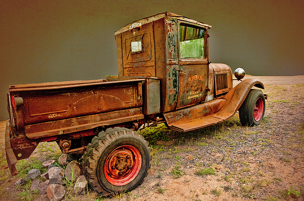 Phyllis Taylor - Old Ford Pickup