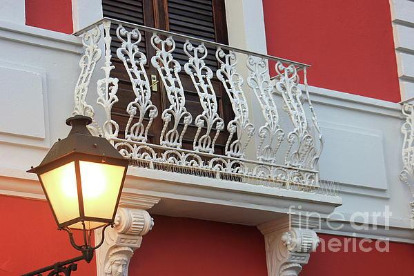 The Art of Alice Terrill - Old San Juan Balcony
