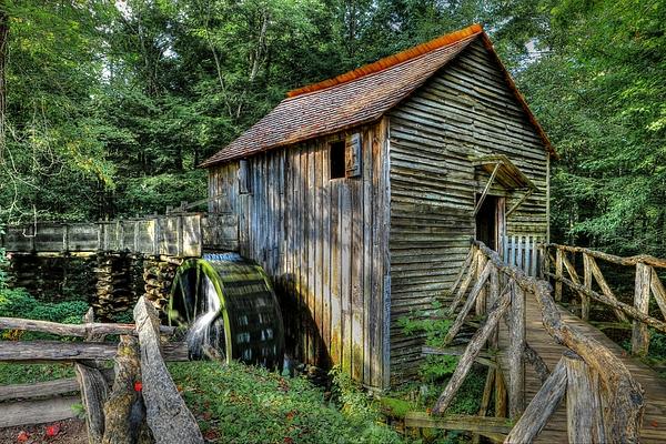 Carol R Montoya - Open Door To Cades Cove Grist Mill