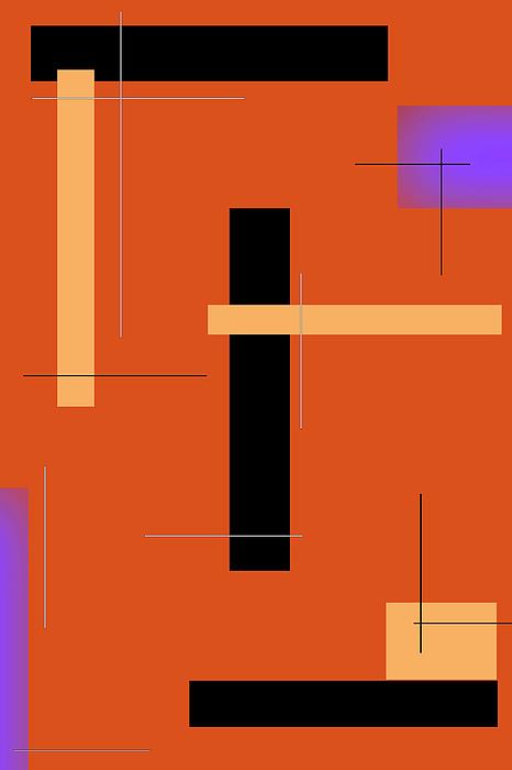 Johanna Hurmerinta - Orange Design 1 Vertical