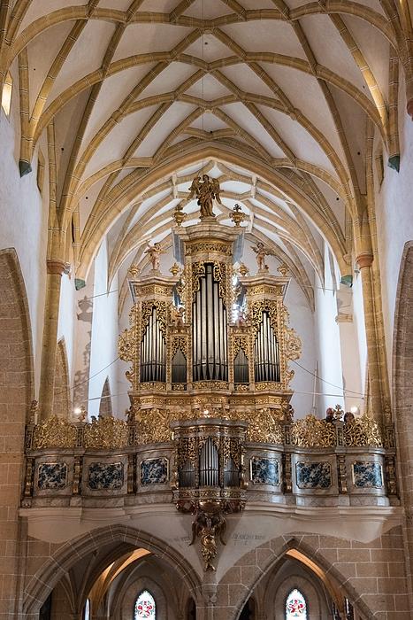 Nicola Simeoni - Organ of the gothic-baroque church of Maria Saal