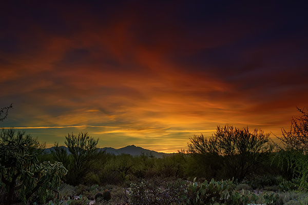 Oro Valley Sunset H02 Photograph