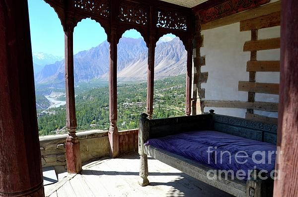 Imran Ahmed - Outdoors wooden room Baltit Fort Karimabad Hunza Gilgit Baltistan Pakistan