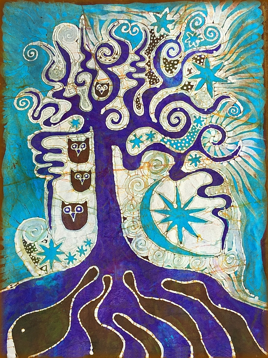 Victoria Dresdner - Owls In A Summer Tree