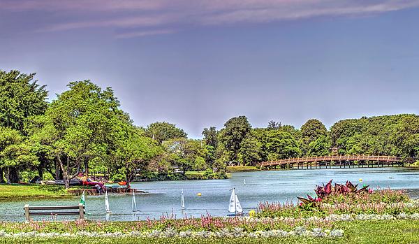 Geraldine Scull - Panoramic of SPRING LAKE SUMMER FUN