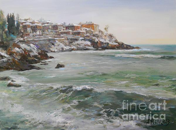 Angelina Nedin - Panoramic Winter Seascape