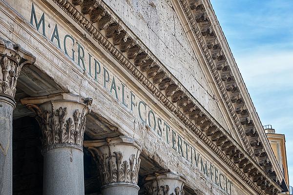 Joan Carroll - Pantheon Rome Italy