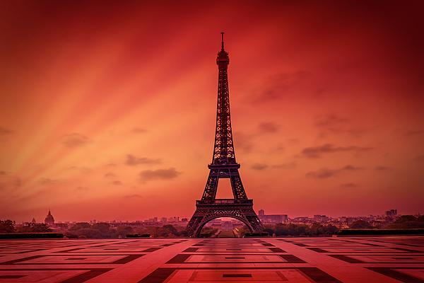Paris Eiffel Tower At Sunrise Iphone X Case For Sale By Melanie Viola