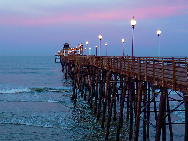 Go Inspire Beauty - Pastel Sunrise on Pier