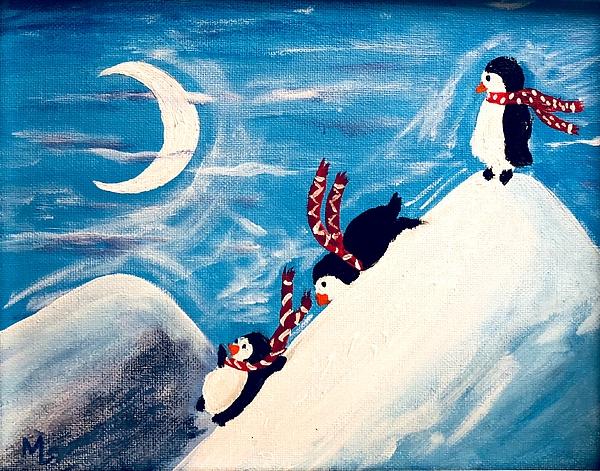 Martha Laviolette - Penguin Party