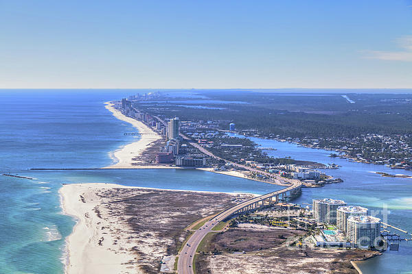 Gulf Coast Aerials - Perdido Pass Bridge 4319