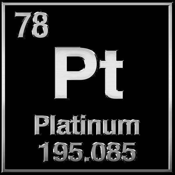 Periodic Table Of Elements Platinum Pt Platinum On Platinum Men S T Shirt Athletic Fit