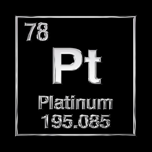 Periodic Table Of Elements Platinum Pt Kids T Shirt