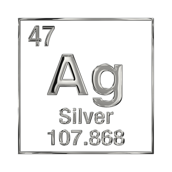 Periodic Table Of Elements Silver Ag T Shirt For Sale By Serge