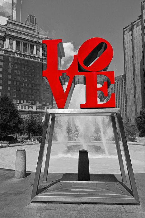 Allen Beatty - Philadelphia Love Sculpture # 2