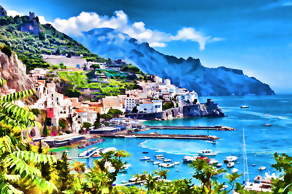 Jeelan Clark - Picturesque Italy series - Amalfi
