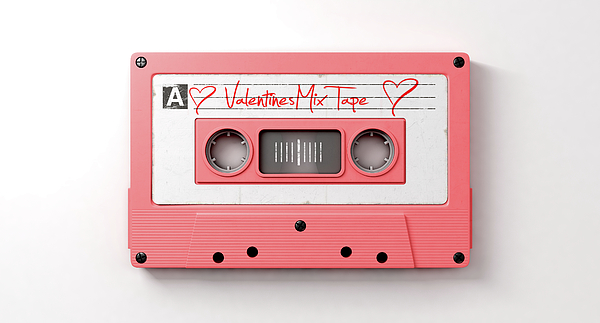 Pink Cassette Mix Tape Greeting Card for Sale by Allan Swart