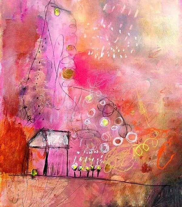 Wendy Mcwilliams - Pink house