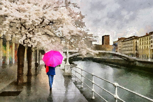 Ronald Bolokofsky - Pink Umbrella