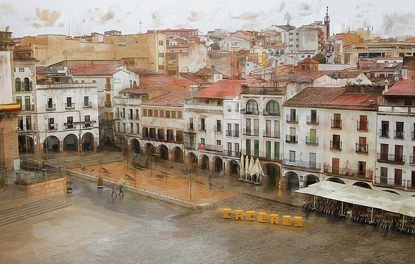 Joan Carroll - Plaza Mayor Caceres Spain